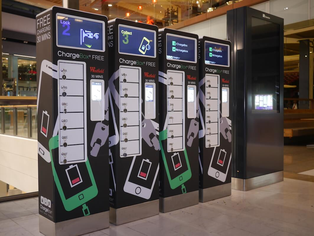 ChargeBox shopping centre charging solutions