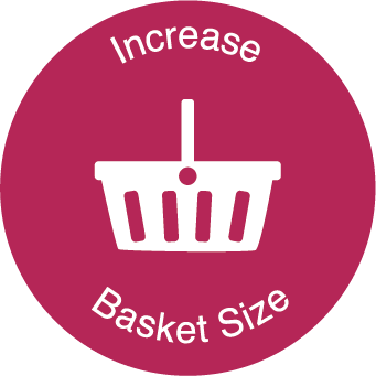 Ink Research proved that ChargeBox increases the basket size of the customer by 28%