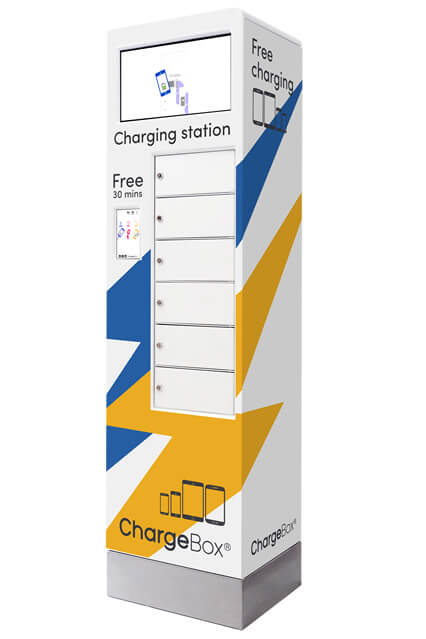 ChargeBox Max mobile device charging station