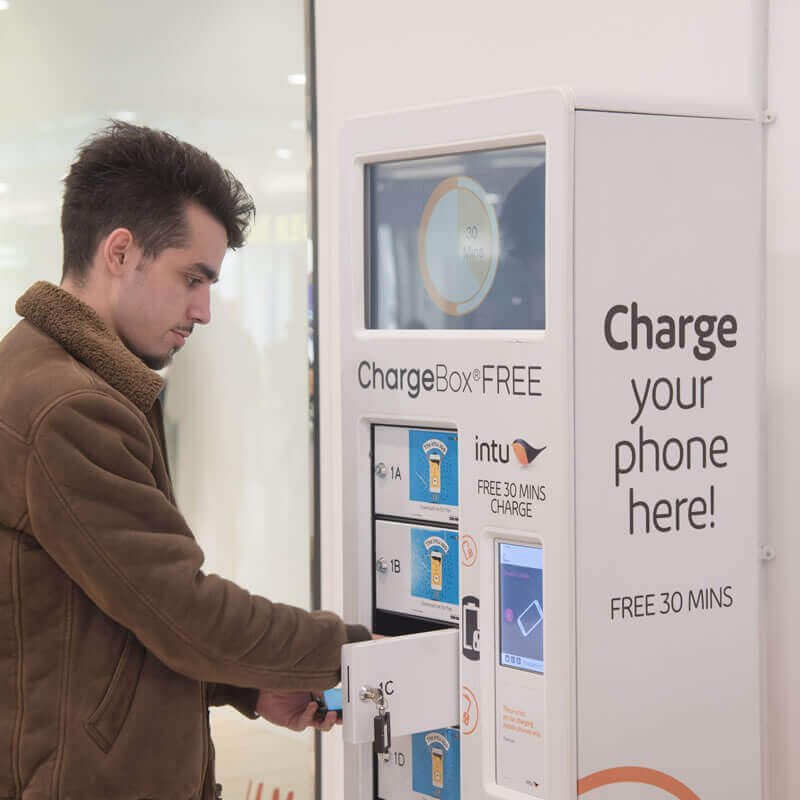ChargeBox 3 simple plug in lock and leave