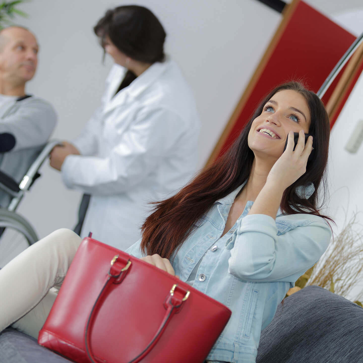 ChargeBox alleviating stress in hospital waiting rooms