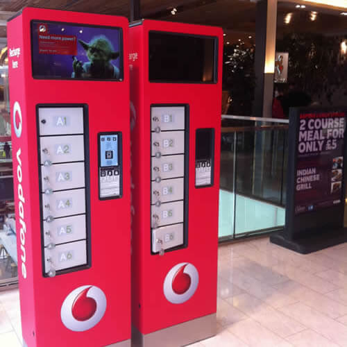 Sponsorship opportunity in Shopping centres - vodafone