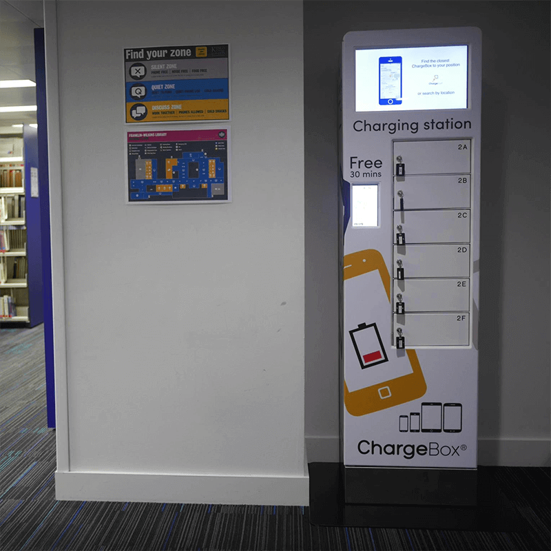 King College London charging station from ChargeBox